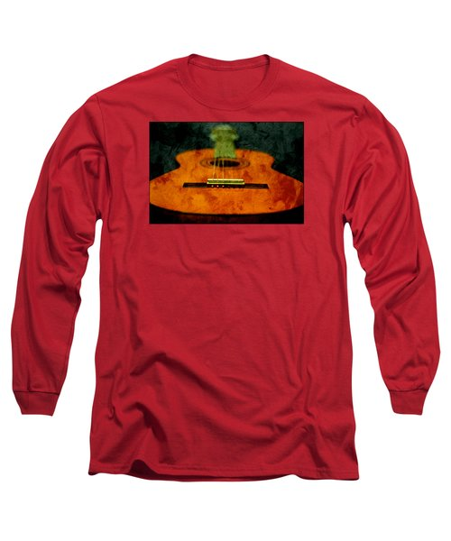 Green Face Long Sleeve T-Shirt