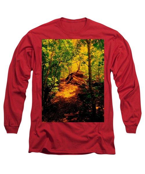 Green Silence Long Sleeve T-Shirt