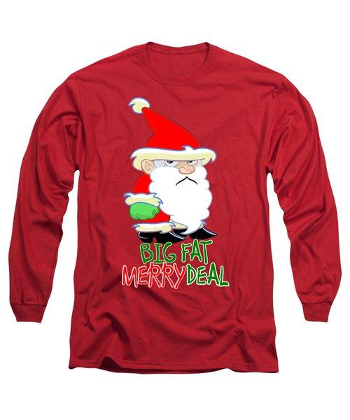 Grumpy Santa Long Sleeve T-Shirt