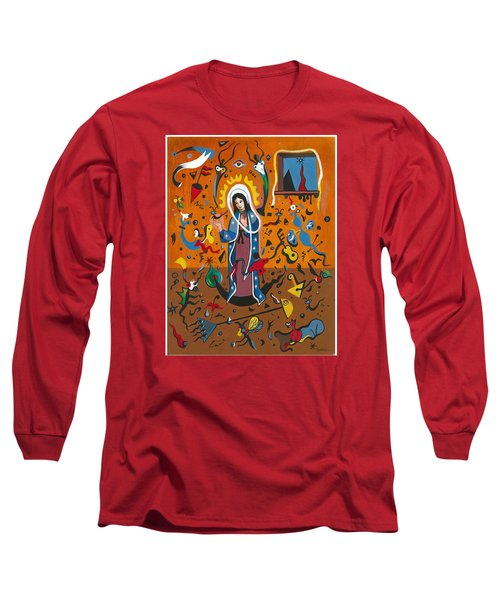 Guadalupe Visits Miro Long Sleeve T-Shirt