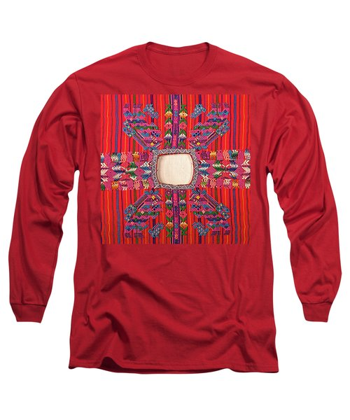 Guatemalan Arts And Crafts Long Sleeve T-Shirt