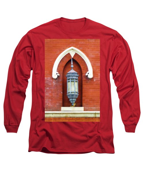 Guiding Light At The Mother Church Long Sleeve T-Shirt by Sandy MacGowan