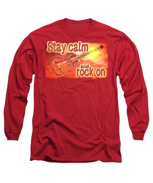 Guitar Fantasy Three Long Sleeve T-Shirt