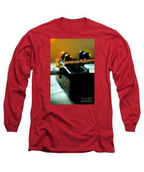 Guitar Pedal Long Sleeve T-Shirt