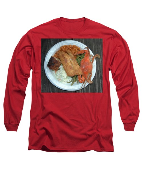 Gullah Plate Long Sleeve T-Shirt