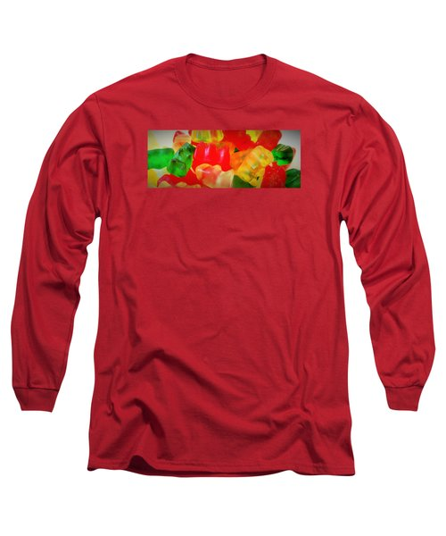 Gummies Long Sleeve T-Shirt by Martin Cline