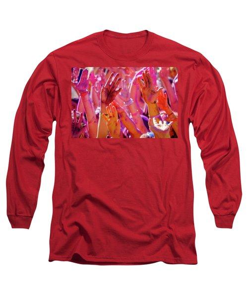 Hands Up-2 Long Sleeve T-Shirt