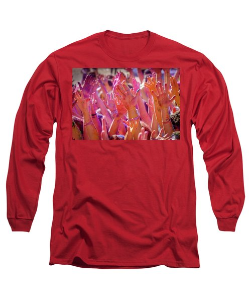 Hands Up Long Sleeve T-Shirt