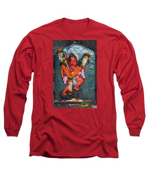 Hanuman Ji, Somewhere Near Ganeshpuri Long Sleeve T-Shirt