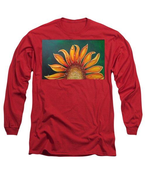 Happy Flower Long Sleeve T-Shirt