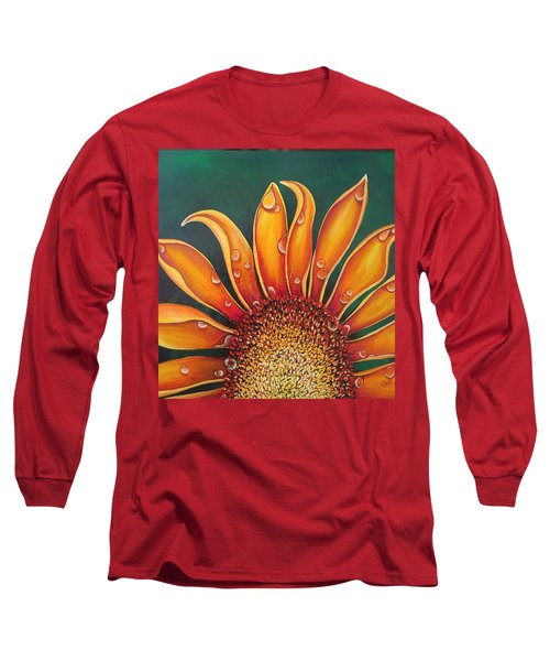Happy Flower Long Sleeve T-Shirt