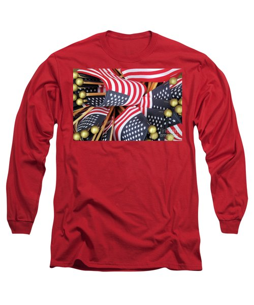 Happy Fourth Of July 2017 Long Sleeve T-Shirt