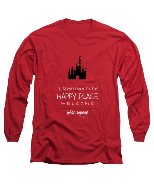 Happy Place Long Sleeve T-Shirt