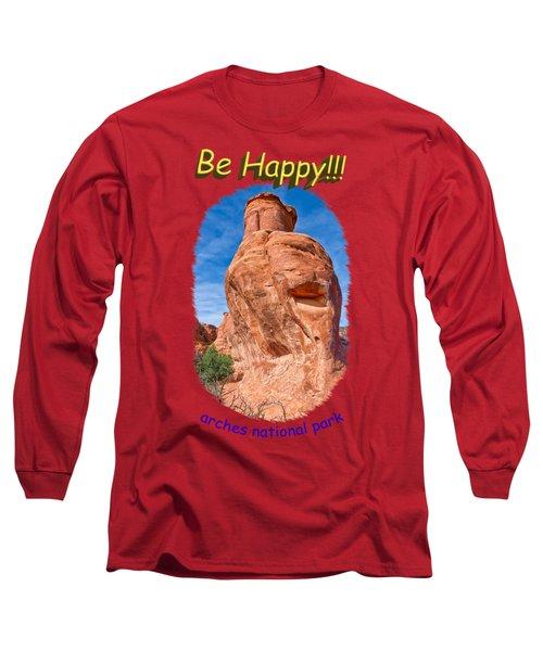 Happy Rock Long Sleeve T-Shirt