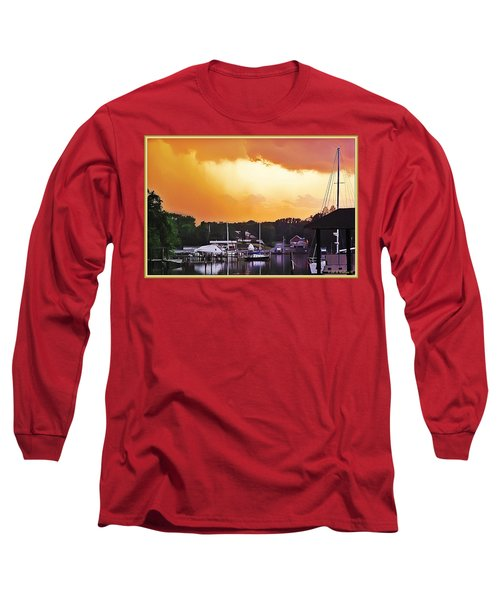 Long Sleeve T-Shirt featuring the photograph Head For Safety by Brian Wallace