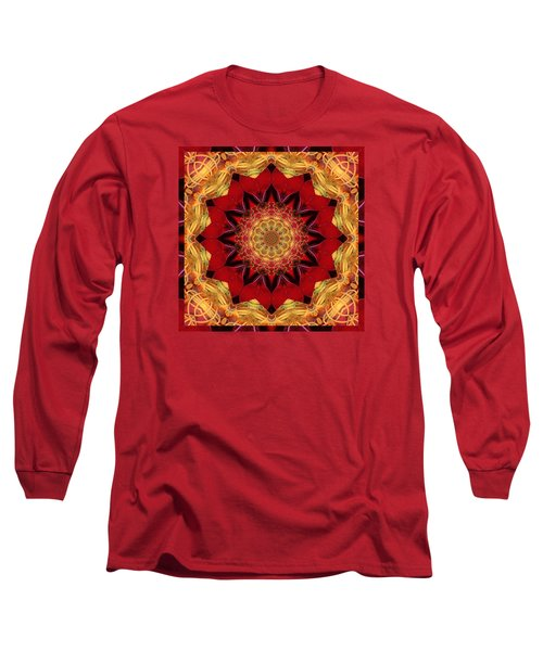 Long Sleeve T-Shirt featuring the photograph Healing Mandala 28 by Bell And Todd