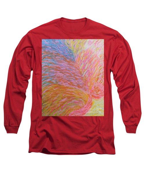 Heart Burst Long Sleeve T-Shirt by Rachel Hannah
