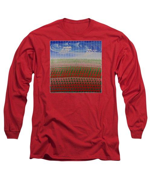Heart Fields Long Sleeve T-Shirt