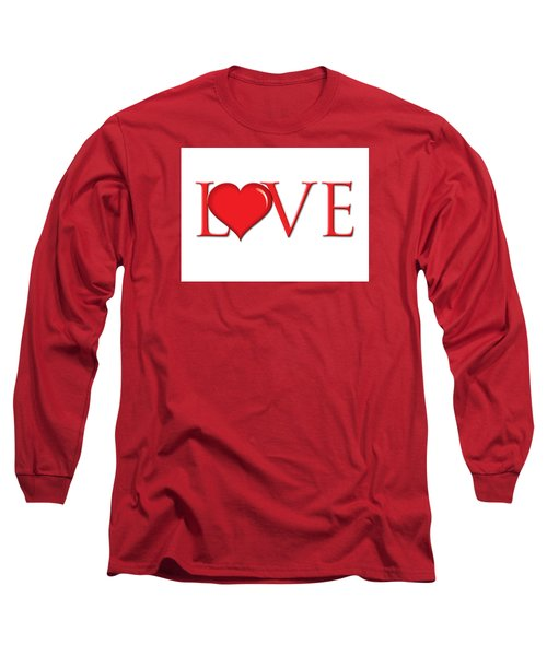 Heart Love Long Sleeve T-Shirt