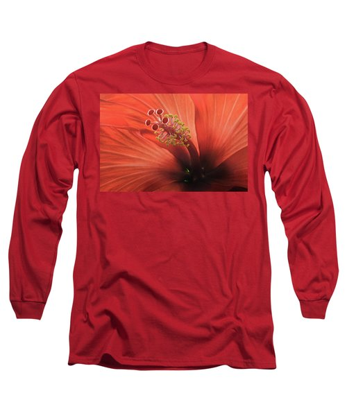 Heart Of Hibiscus Long Sleeve T-Shirt