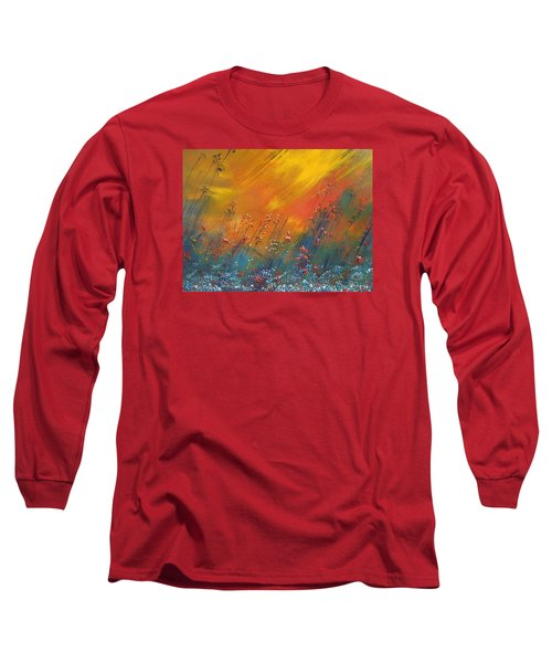 Long Sleeve T-Shirt featuring the painting Heartland  by Dan Whittemore