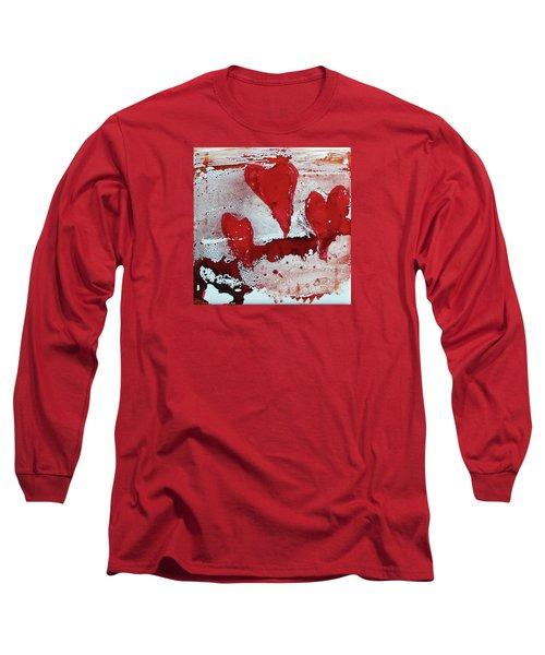 Hearts Afire Long Sleeve T-Shirt