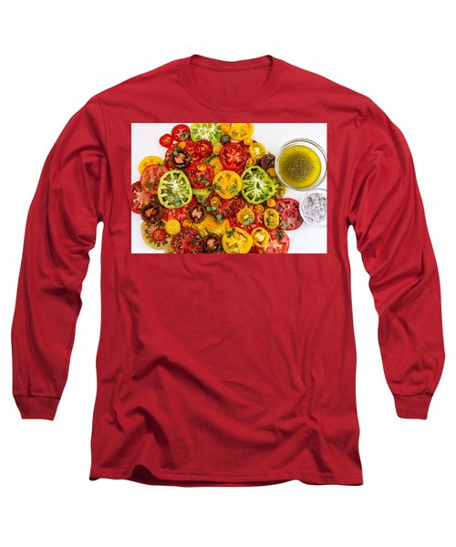 Heirloom Tomato Slices Long Sleeve T-Shirt