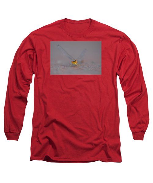 Long Sleeve T-Shirt featuring the photograph Hello by Ramona Whiteaker