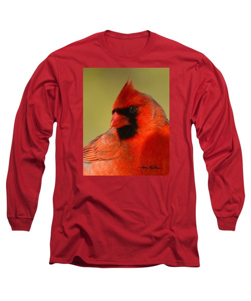 Hello Red Long Sleeve T-Shirt