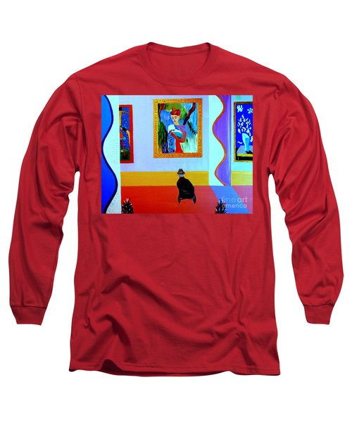 Henri Remembers Long Sleeve T-Shirt by Bill OConnor
