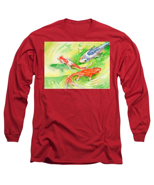 Here Comes Moby Long Sleeve T-Shirt by Judith Levins