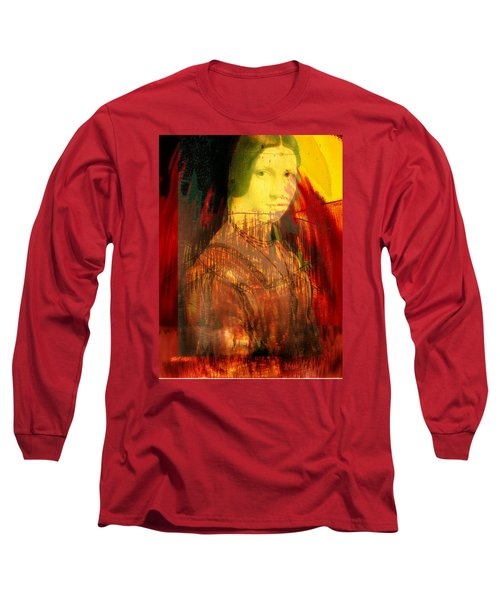 Here Is Paint In Your Eye Long Sleeve T-Shirt by Seth Weaver