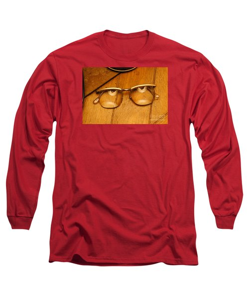 Here's Looking At You Long Sleeve T-Shirt by Paul  Wilford