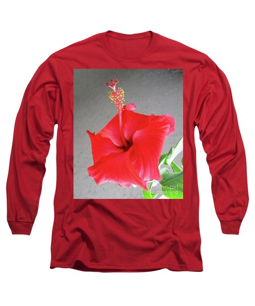 Hibiscus #2 Long Sleeve T-Shirt