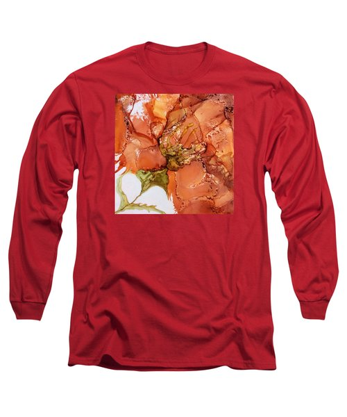 Hibiscus Long Sleeve T-Shirt by Pat Purdy