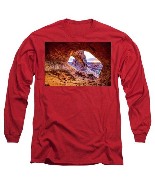 Hidden Alcove Long Sleeve T-Shirt by Chad Dutson
