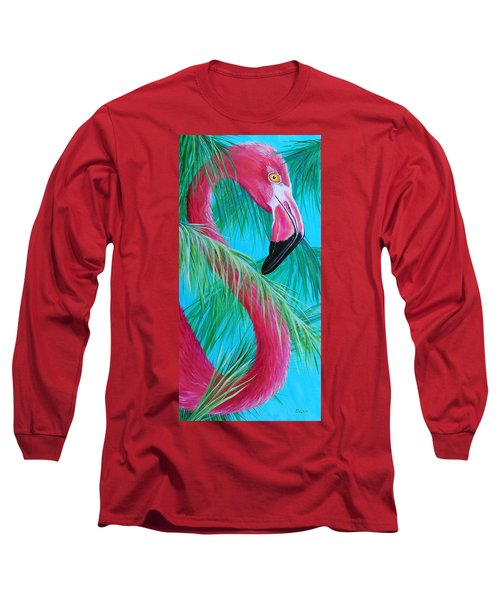Long Sleeve T-Shirt featuring the painting Hidden Treasure by Susan DeLain