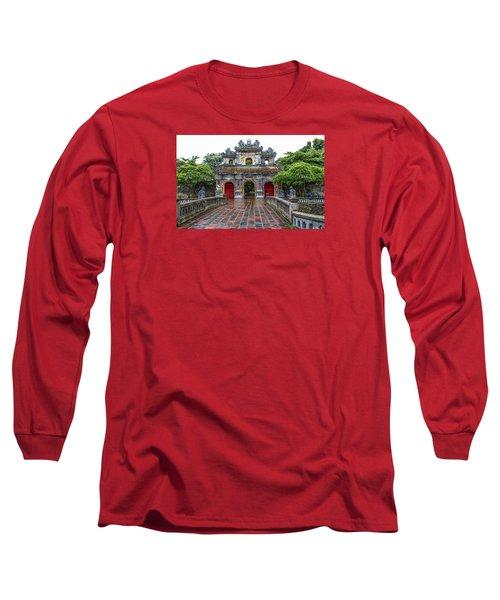 Hien Nhon Gate, Citadel, Hue,vietnam Long Sleeve T-Shirt