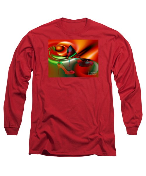 Highheels Red And Green Long Sleeve T-Shirt