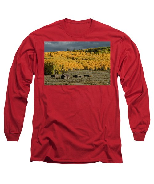 Long Sleeve T-Shirt featuring the photograph Hills Afire by Dana Sohr