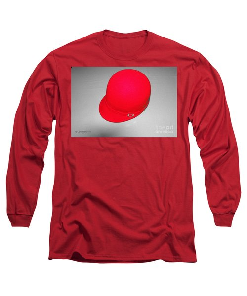 Hints Of Red - Hat Long Sleeve T-Shirt