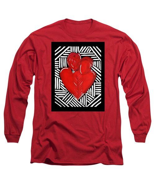 Hold Me Long Sleeve T-Shirt by Diamin Nicole
