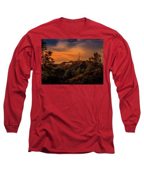 Hollywood Sunset Long Sleeve T-Shirt