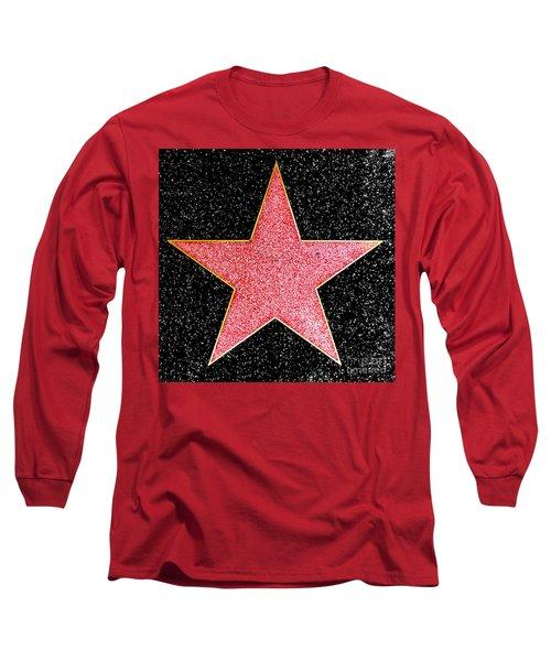 Hollywood Walk Of Fame Star Long Sleeve T-Shirt