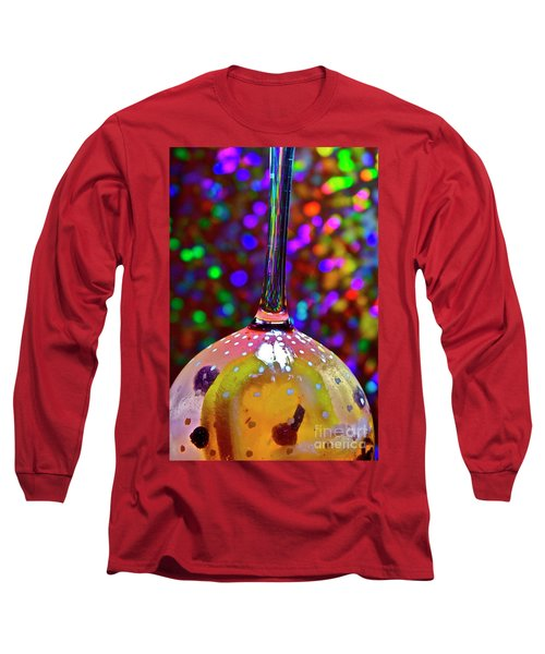 Holographic Fruit Drop Long Sleeve T-Shirt