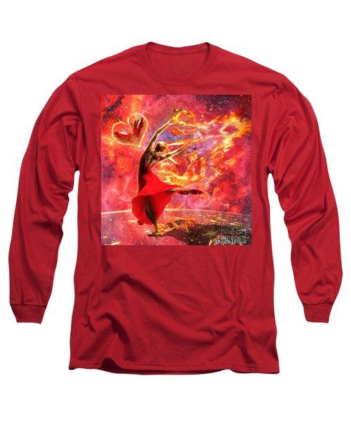 Holy Spirit Fire Long Sleeve T-Shirt