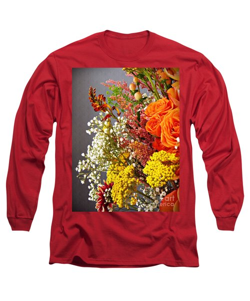 Long Sleeve T-Shirt featuring the photograph Holy Week Flowers 2017 2 by Sarah Loft