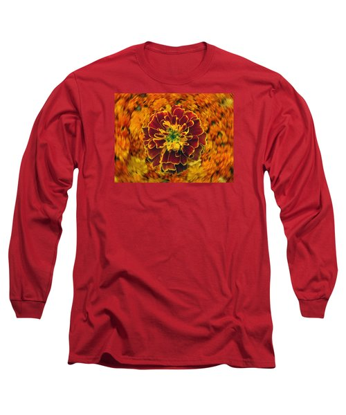 Home Grown Marigold Long Sleeve T-Shirt