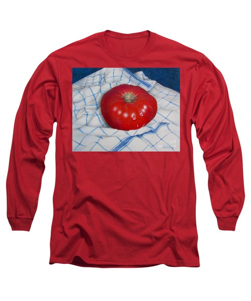 Home Grown Long Sleeve T-Shirt by Pamela Clements