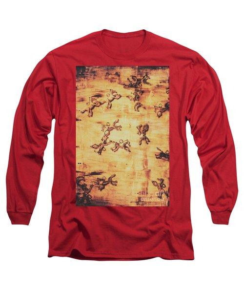 Hoofs Parade Long Sleeve T-Shirt